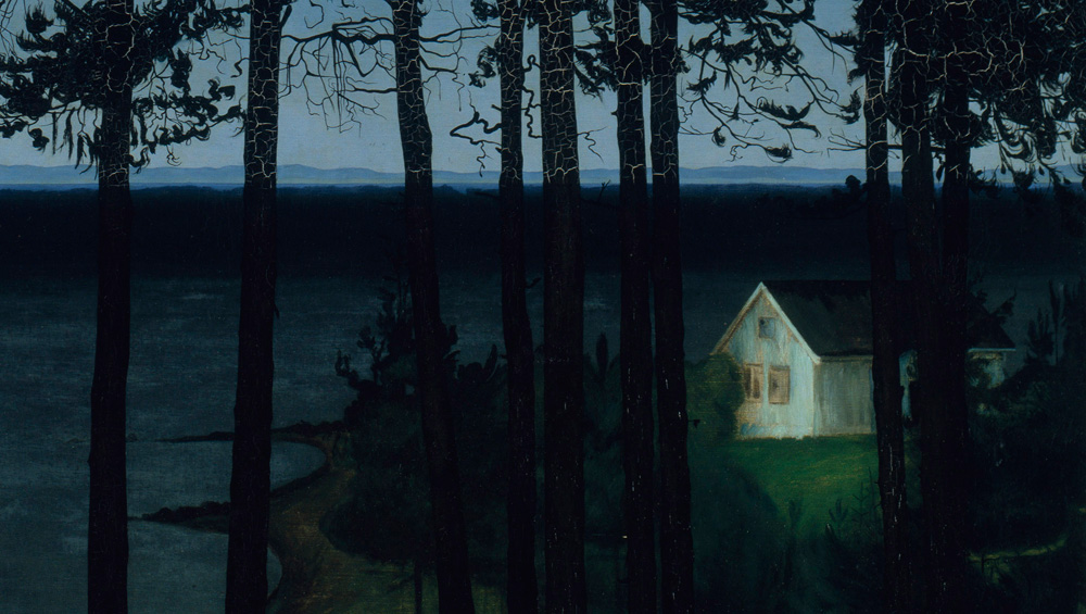 Harald Sohlberg's paintings of Norwegian houses and snowy mountains are saturated with colour and mystery, making Dulwich Picture Gallery's exhibition of his work the perfect way to see out the winter months