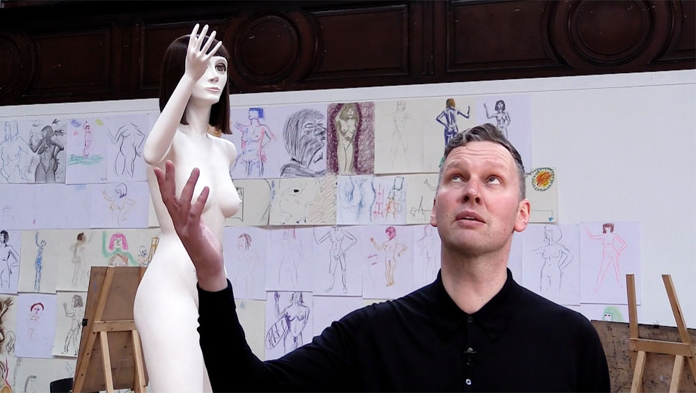 David Shrigley talks about his large-scale installation Life Model II at Fabrica Gallery in Brighton, part of the Brighton Festival for which he is this year's guest director
