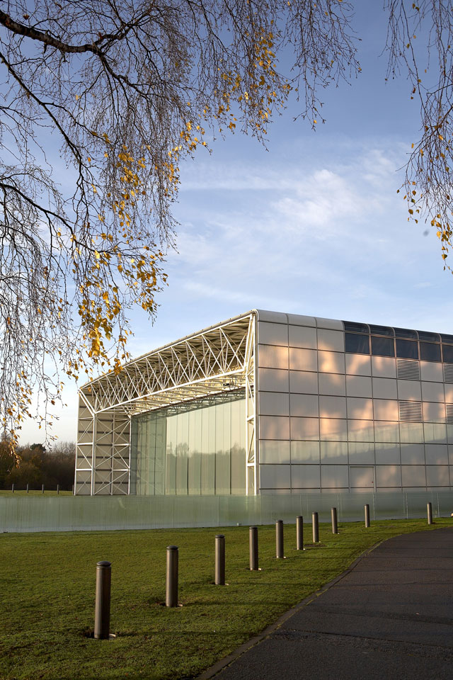 Current day Sainsbury Centre, 2009. Photograph: © Sainsbury Centre, Pete