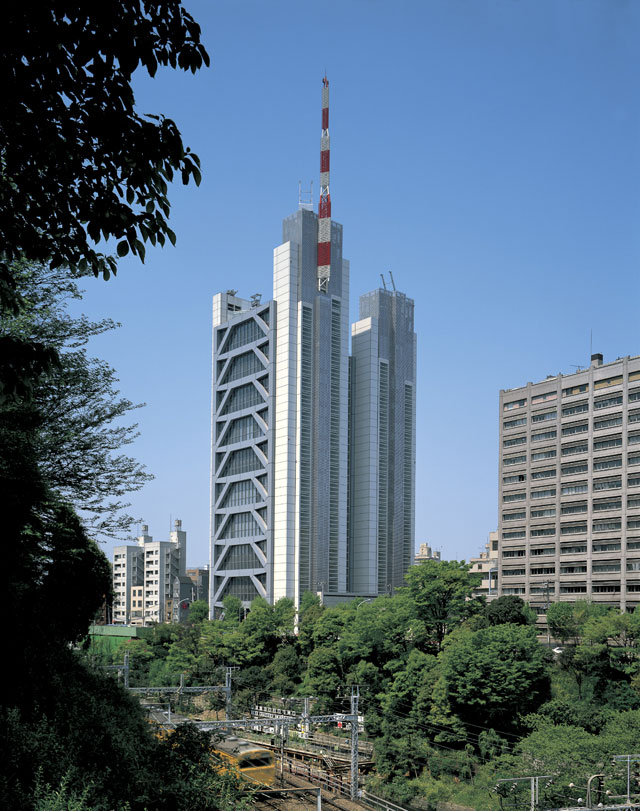 Century Tower, Japan. Photograph: © Foster + Partners, Ian Lambot.