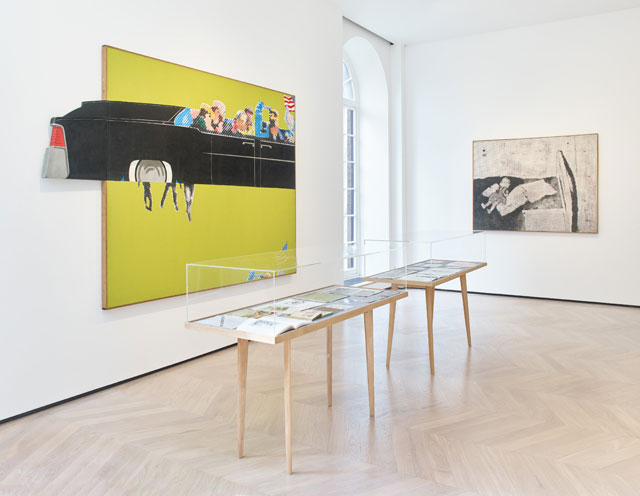 Source and Stimulus: Polke, Lichtenstein, Laing. Installation view, Lévy Gorvy, London, 6 March – 21 April 2018. Photograph: Stephen White.
