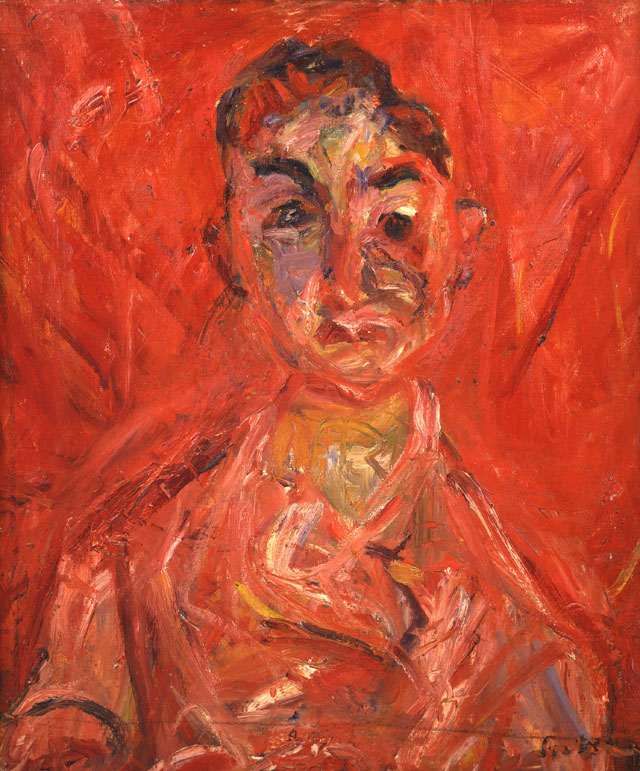 Chaïm Soutine. Butcher Boy, c1919-20, 65 x 54 cm. Private collection.