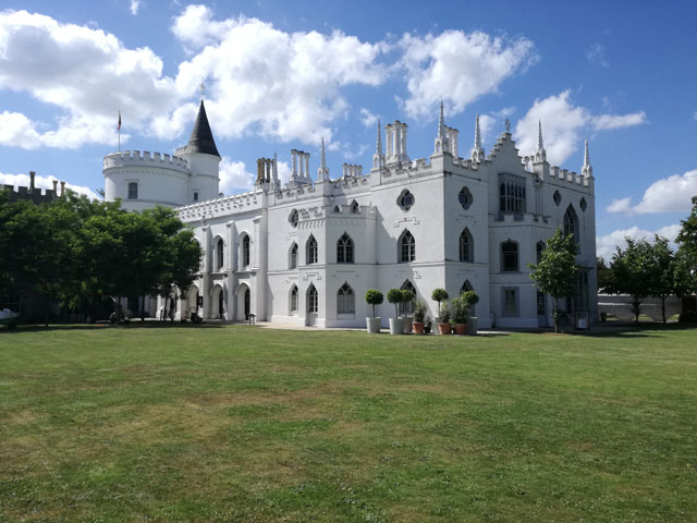 Strawberry Hill House, built by the historian Horace Walpole in the 18th century. Photograph: © Christian Guckelsberger.