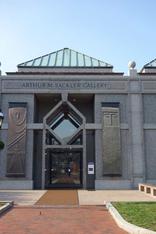 Arthur M. Sackler Gallery entrance.