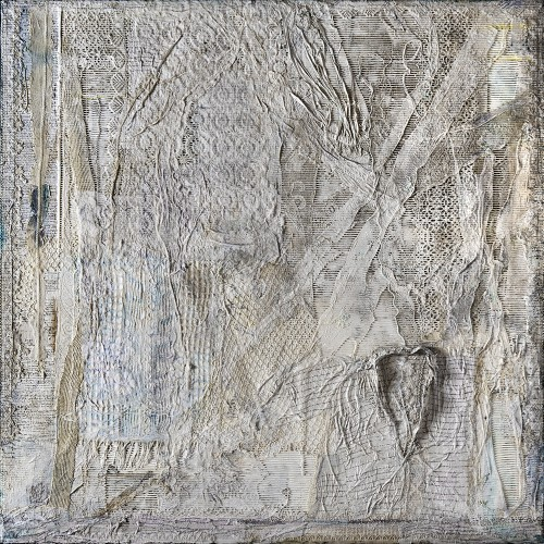 Peter Sacks. Aftermath 11, 6 x 6, 2013-2014. Mixed media. 72 x 72 in (182.9 x 182.9 cm). SACK-0020. Courtesy of the Artist and the Robert Miller Gallery.