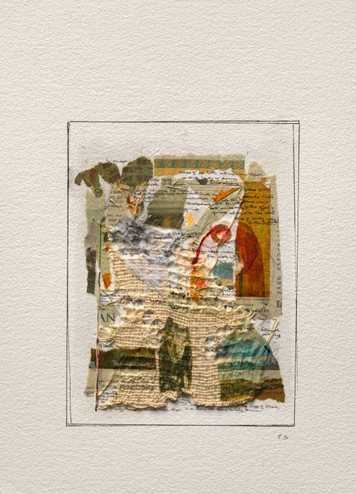Peter Sacks. Ulysses Series 14, 2013. Mixed media on paper. 14 ¼ x 10 ¼ in (36.2 x 26 cm). Framed 18 5/8 x 14 5/8 inches (47.3 x 37.1 centimeters). SACK-0048. Courtesy of the Artist and the Robert Miller Gallery.