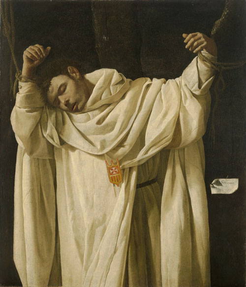 Francisco de Zurbarán (1598–1664). <em>Saint Serapion</em>, 1628. © Wadsworth Atheneum Museum of Art, Hartford, CT. The Ella Gallup Sumner and Mary Catlin Sumner Collection Fund (1951.40).