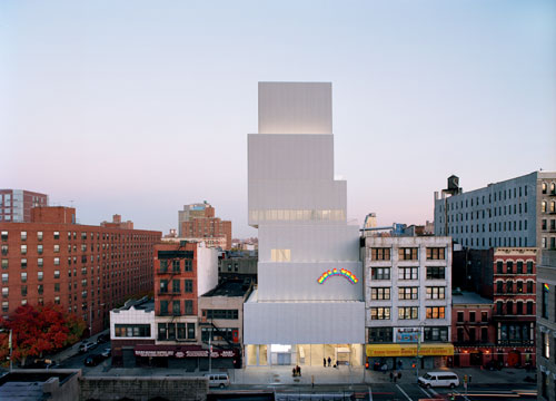 Kazuyo Sejima + Ryue Nishizawa/SANAA. New Museum of Contemporary Art, New York, USA, 2003–07.