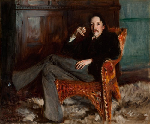 Robert Louis Stevenson by John Singer Sargent, 1887. Copyright: Courtesy of the Taft Museum of Art, Cincinnati, Ohio.