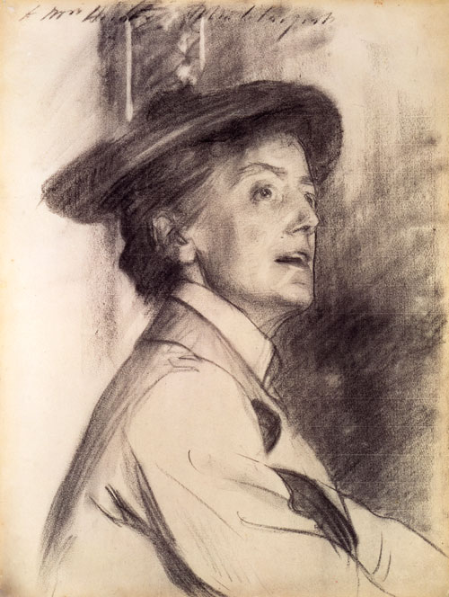 Dame Ethel Smyth by John Singer Sargent, 1901. Copyright: National Portrait Gallery, London.