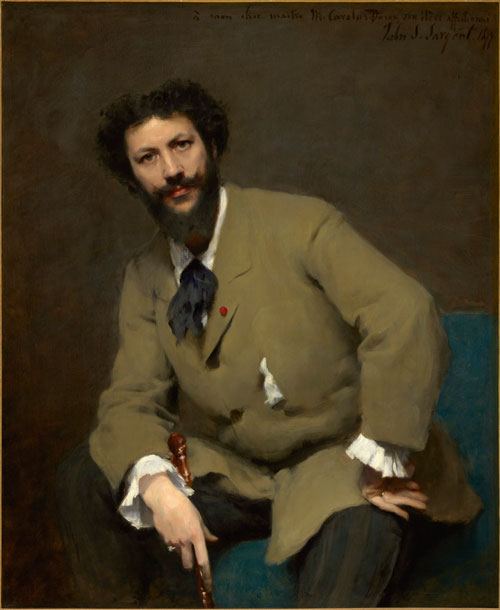 Carolus-Duran by John Singer Sargent, 1879. Copyright: Sterling and Francine Clark Art Institute, Williamstown, Massachusetts, USA. Photograph: Michael Agee.