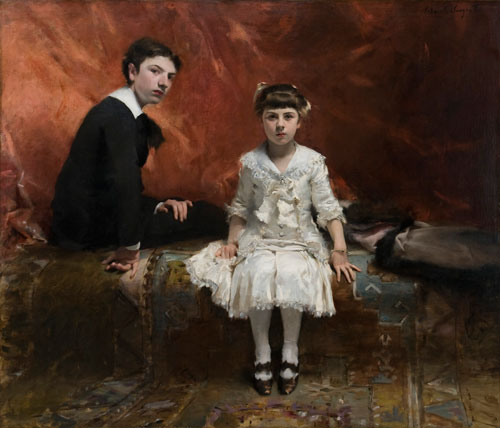 Édouard and Marie-Louise Pailleron by John Singer Sargent, 1881. Copyright: Des Moines Art Center, Des Moines, Iowa.