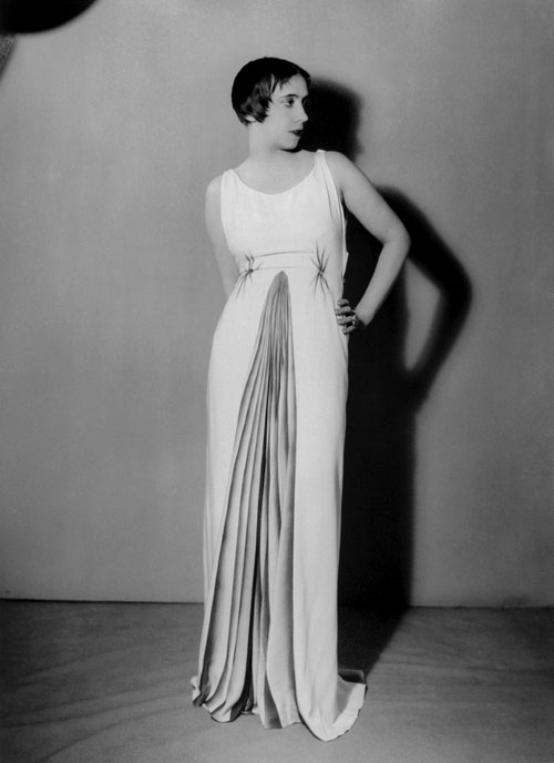 Elsa Schiaparelli in Elsa Schiaparelli, autumn 1931. Courtesy of The Metropolitan Museum of Art. Photograph by Man Ray. © 2012 Artists Rights Society (ARS), New York/ADAGP, Paris.