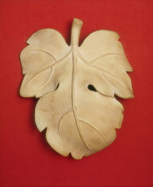 After Michelangelo,<em> Fig Leaf for Michelangelo's David</em>, 1857. Plaster cast. Victoria &amp; Albert Museum, London. Photo &copy; V&amp;A Images/Victoria and Albert Museum, London