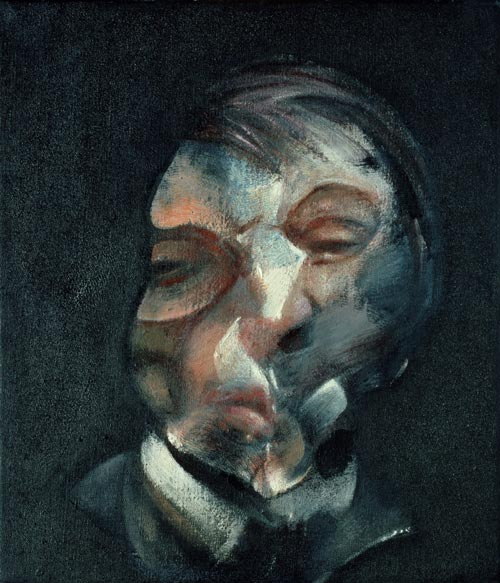 Francis Bacon. <em>Self-portrait. </em>Copyright: © Estate of Francis Bacon 2005. All rights reserved, DACS. Photo © CNAC/MNAM Dist. RMN/Philippe Migeat.