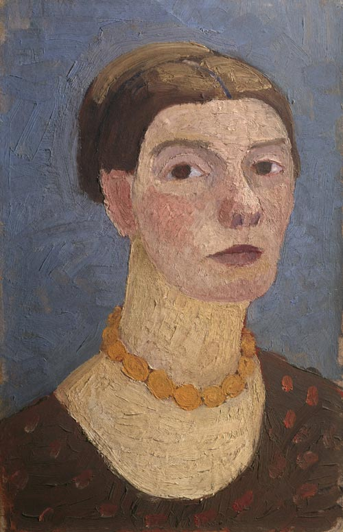 Paula Modersohn-Becker. <em>Self-portrait</em>. Copyright: © Rheinisches Bildarchiv, Koln.