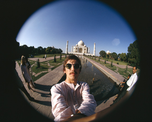 George Harrison, Taj Mahal Self-Portrait, 1966. © Harrison Family.