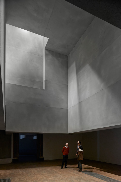 Installation by Grafton Architects (view 2). Photograph © Royal Academy of Arts, London, 2014. Photograph: James Harris.