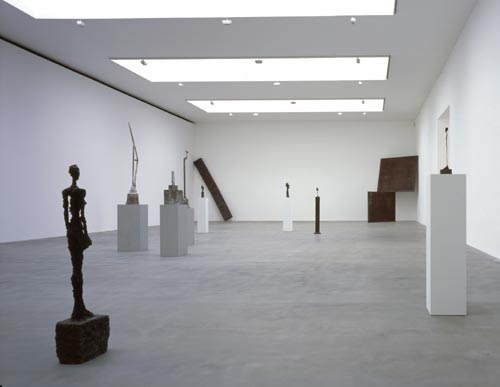 View of Gallery 1, courtesy of Gagosian Gallery. © Hélène Binet