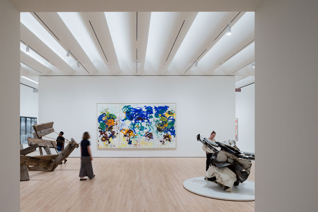 Approaching American Abstraction: The Fisher Collection exhibition. Photograph: © Iwan Baan, courtesy SFMOMA.