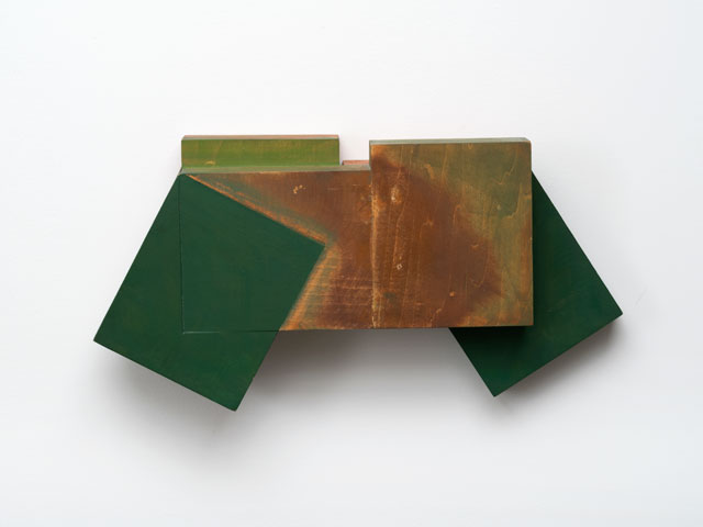 Joel Shapiro. Untitled, 1980. Wood and oil paint, 8 1/2 x 17 x 3 5/8 in (21.6 x 43.2 x 9.2 cm). © 2016 Joel Shapiro / Artists Rights Society (ARS), New York.