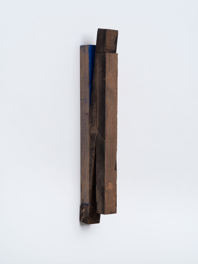 Joel Shapiro. Untitled, c1978-1980. Wood and paint, 11 3/4 x 1 1/16 x 2 1/2 in (29.8 x 2.7 x 6.4 cm). © 2016 Joel Shapiro / Artists Rights Society (ARS), New York.