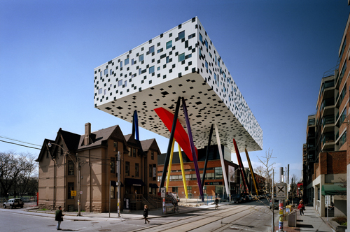 Will Alsop, Sharp Center. <em>Exterior</em>.