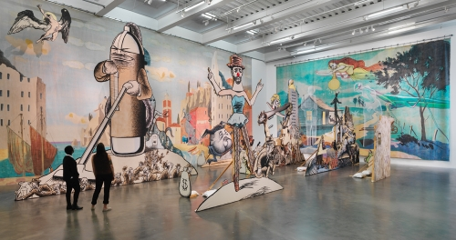 Jim Shaw: The End is Here, 2015–16. Courtesy New Museum, New York. Photograph: Maris Hutchinson / EPW