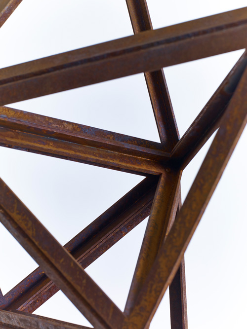Conrad Shawcross. Paradigm Study (Structural), 2014 (detail). Courtesy the artist and Victoria Miro, London. © Conrad Shawcross.