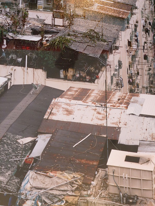 Hong Kong Informal Rooftop Communities. Border Warehouse. Image courtesy Lilly Wei.