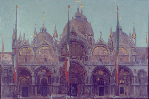 Walter Sickert. <em>St Mark's Venice</em>, c.1896–7. Oil on canvas, 1005 x 1510 mm. British Council, © Estate of Walter R. Sickert. All rights reserved, DACS 2008.