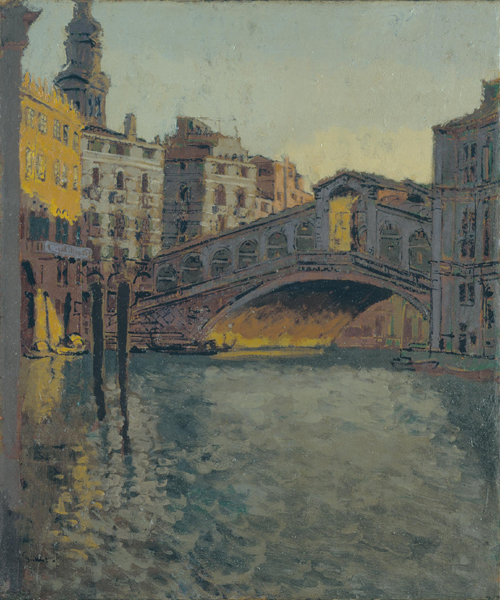 Walter Sickert, <em>The Rialto Bridge</em>, 1901. Oil on canvas, 610 x 508 mm. Courtesy of Hazlitt Holland-Hibbert. © Estate of Walter R. Sickert. All rights reserved, DACS 2008.