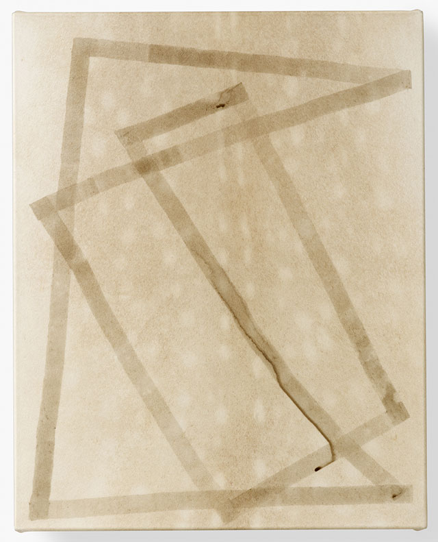 Daniel Sinsel. Untitled, 2016. Bistre ink on deer vellum, 