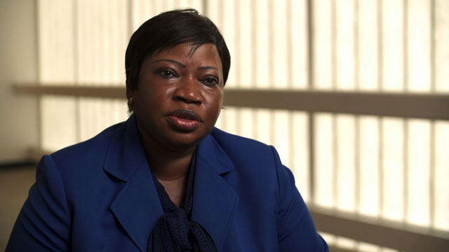 ICC Prosecutor Fatou Bensouda: 'Of course the killing of people is very grave, but what complements it is where they are coming from, and what they had. We should attach equal importance to that identity.'