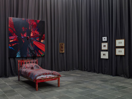 Installation view of Sleepless. Photograph: Gregor Titze, © Belvedere, Vienna.