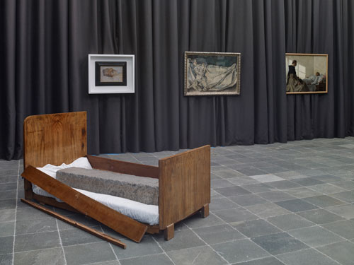 Installation view of Sleepless (2). Photograph: Gregor Titze, © Belvedere, Vienna.