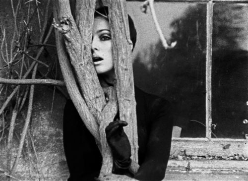Penny Slinger. Still from film Lilford Hall, 1969, featuring Penny Slinger, Susanka Fraey. Camera Peter Whitehead. 16mm film. Courtesy Blum and Poe Gallery. © Penny Slinger.