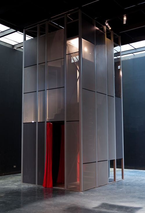 <br>   Vazio S/A, 2010. <em>Spiral Booths</em>,  2010.  &copy; Vazio S/A, 2010, commissioned by the V&amp;A.