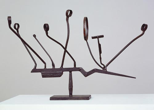 David Smith. <em>Agricola IX</em>, 1952. Steel. Tate. Lent by the Estate of David Smith, promised gift, 2000. Copyright: Estate of David Smith/ VAGA, New York, DACS 2006.