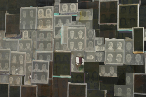 Kay Hassan. <em>Negatives 1-6</em>, 2006. Photo collage (detail). Courtesy the artist