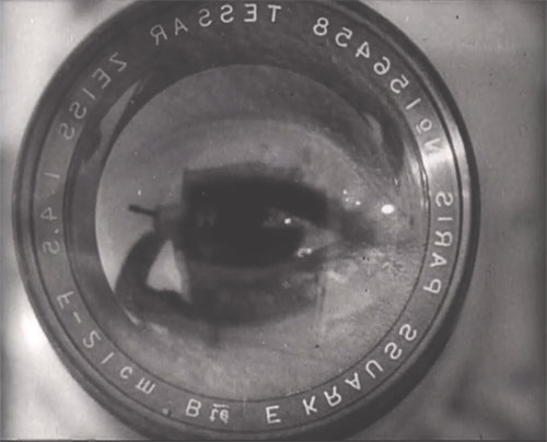 Still from Man with a Movie Camera, directed by Dziga Vertov, 1929. USSR, 68 minutes.