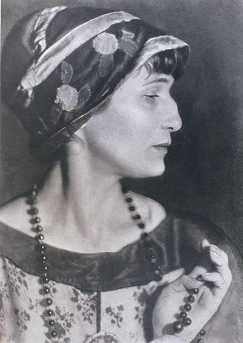 Moisei Nappelbaum. The Poet Anna Akhmatova, 1924. Gelatin silver print. Collection of Alex Lachmann.