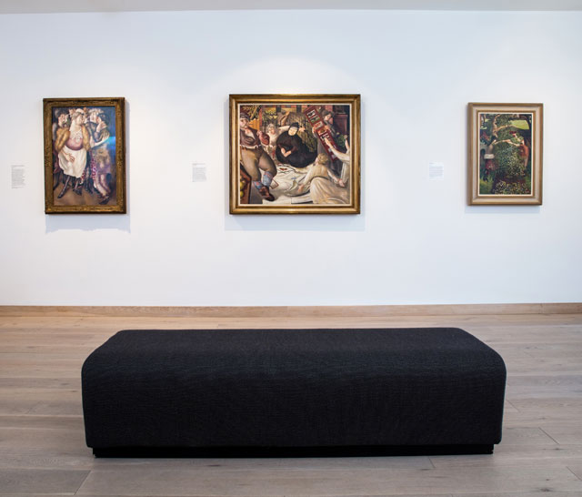 In Focus: Stanley Spencer – A Panorama of Life. Installation view. © Pete Jones. Courtesy Jerwood Gallery.