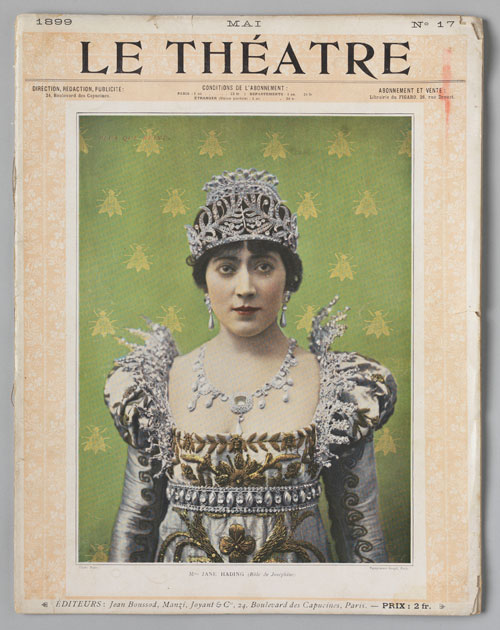 Paul Boyer. Jane Hading in Plus que Reine. Cover of Le Théatre, May 1899. Private collection. Photograph: Bruce White.
