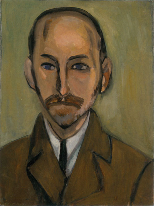 Henri Matisse. Michael Stein, 1916. Oil on canvas, 67.3 by 50.5 cm. San Francisco Museum of Modern Art.