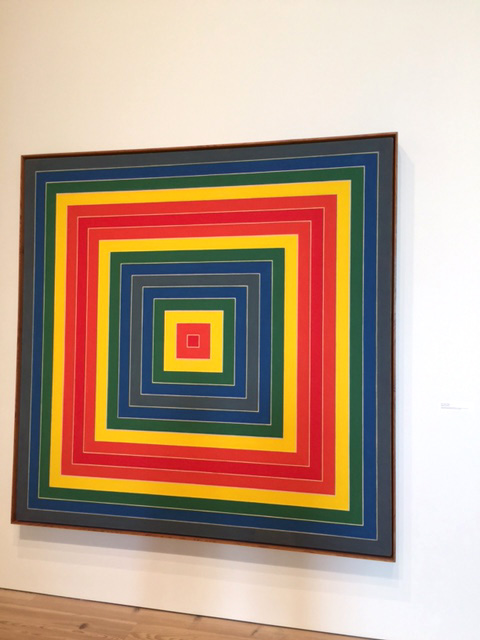 Frank Stella. Gran Cairo, 1962. Alkyd on canvas, 85 1/2 x 85 1/2 in (217.17 x 217.17 cm). Photograph: Jill Spalding.