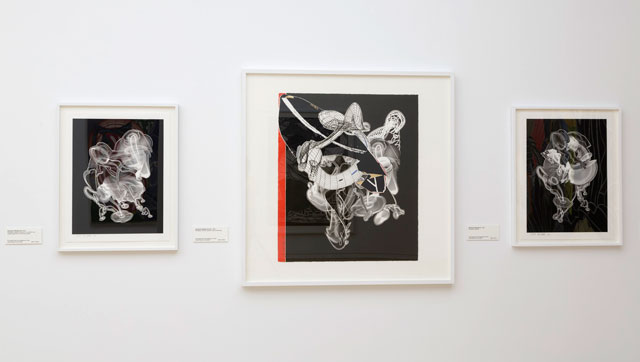 Frank Stella: The Kenneth Tyler Print Collection, installation view, National Gallery of Australia, Canberra, 2016.