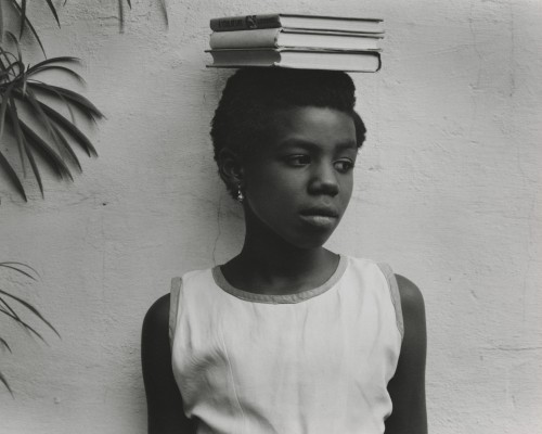 Paul Strand. Anna Attinga Frafra, Accra, Ghana, 1964 (negative); 1964 (print). Gelatin silver print, Image: 7 5/8 × 9 5/8 in (19.4 × 24.4 cm), Philadelphia Museum of Art, The Paul Strand Collection, purchased with The Henry McIlhenny Fund and other Museum funds, 2012. © Paul Strand Archive/Aperture Foundation.