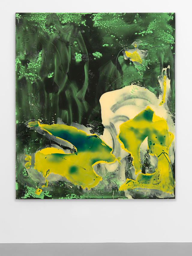 Ryan Sullivan. Untitled, 2016. Urethane plastic and pigment, 212.5 x 182.5 x 5 cm (83 ⅝ x 71 ¾ x 2 in). Courtesy Sadie Coles HQ.