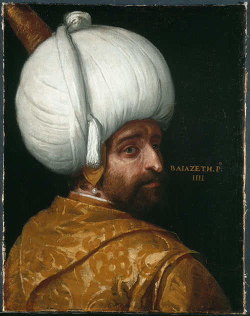 Paolo Veronese (and workshop), Sultan Bajezid I © Collection Bayerische Staatsgemäldesammlungen, München.